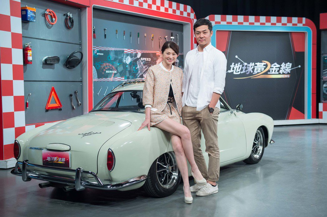 姚元浩(右)上TVBS「地球黃金線」。圖/TVBS提供