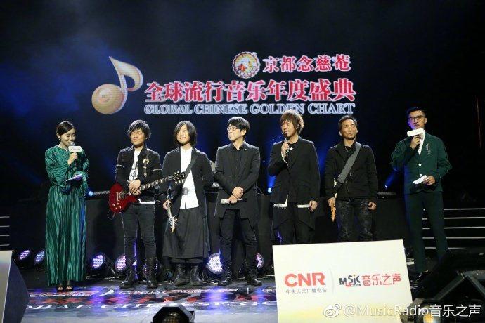 五月天昨於MusicRadio風光獲3大獎。圖/摘自微博