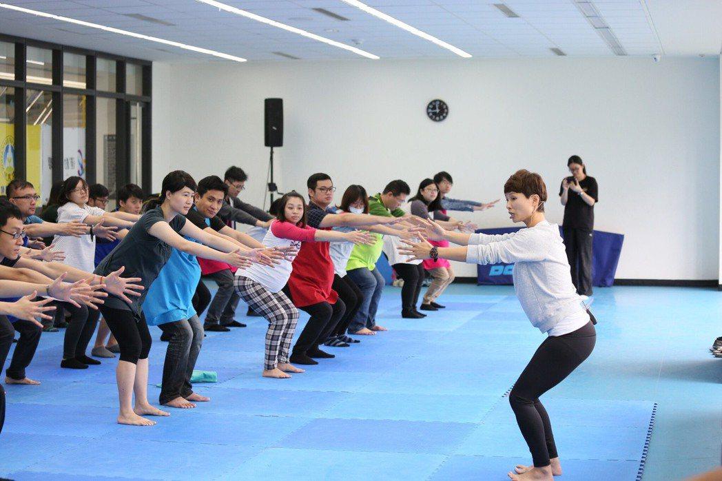 孕婦瑜伽。 圖/新北市體育處提供