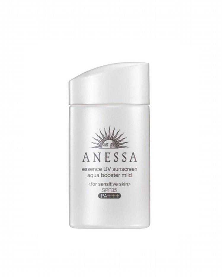 安耐曬銀鑽保濕敏感肌防曬露SPF35/PA++++,60ml,850元。圖/資生...