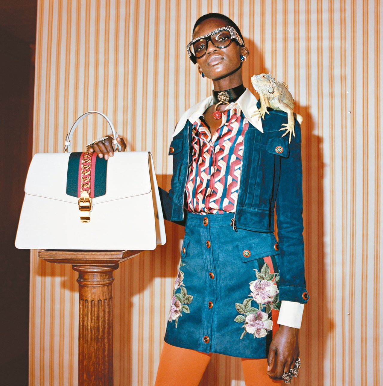 Gucci在部分城市推出下單後90分鐘送貨到家服務。
