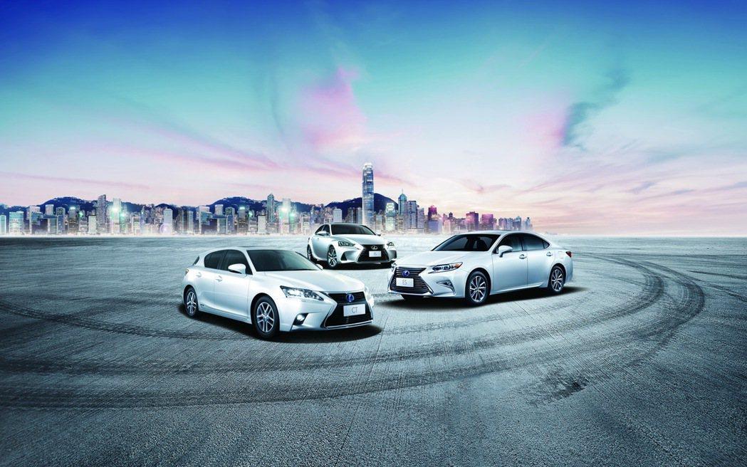 Lexus本月份針對指定車款推出升級四核心導航影音系統。 圖/和泰汽車提供