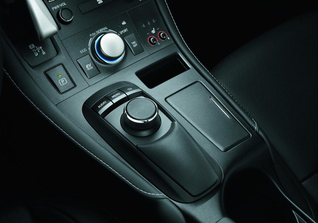 智慧型旋鈕操控介面。 圖/和泰汽車提供