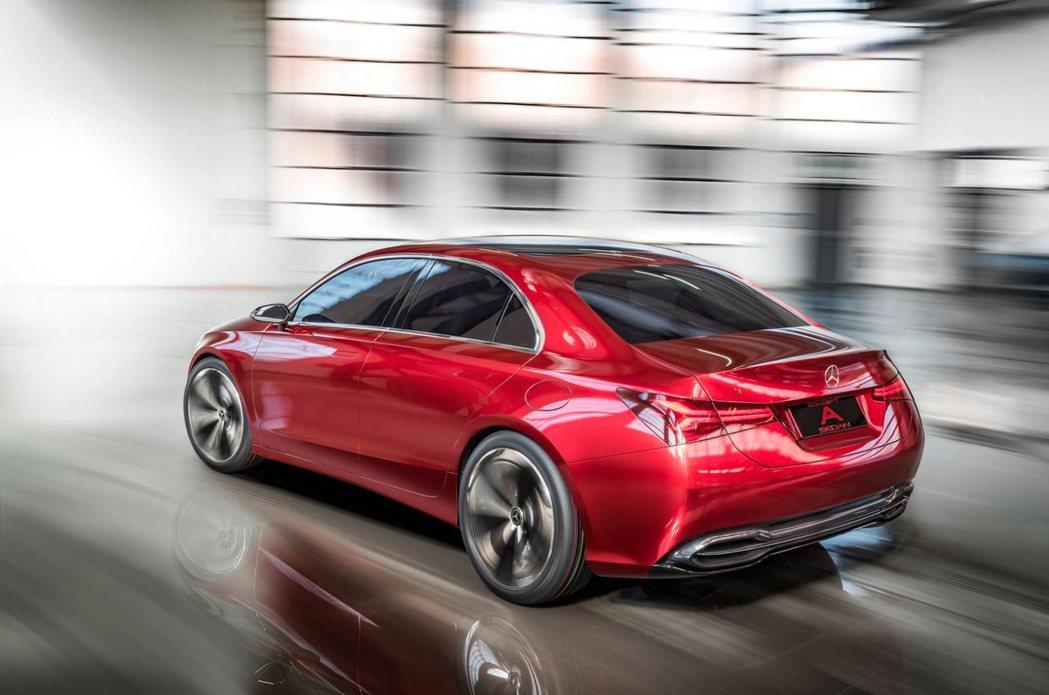 A-Class sedan Concept。 摘自 Mercedes-Benz