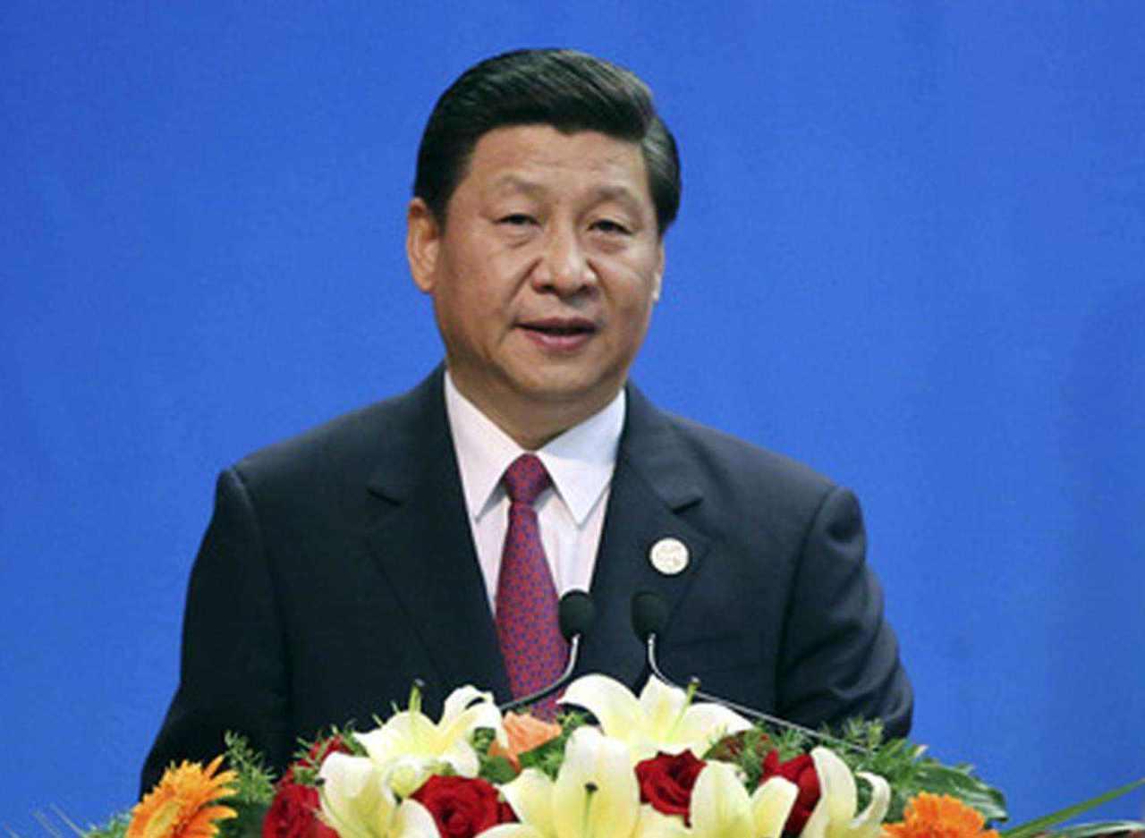 大陸國家主席習近平今(8)日向法國新當選總統馬克宏致賀電。(新華網)
