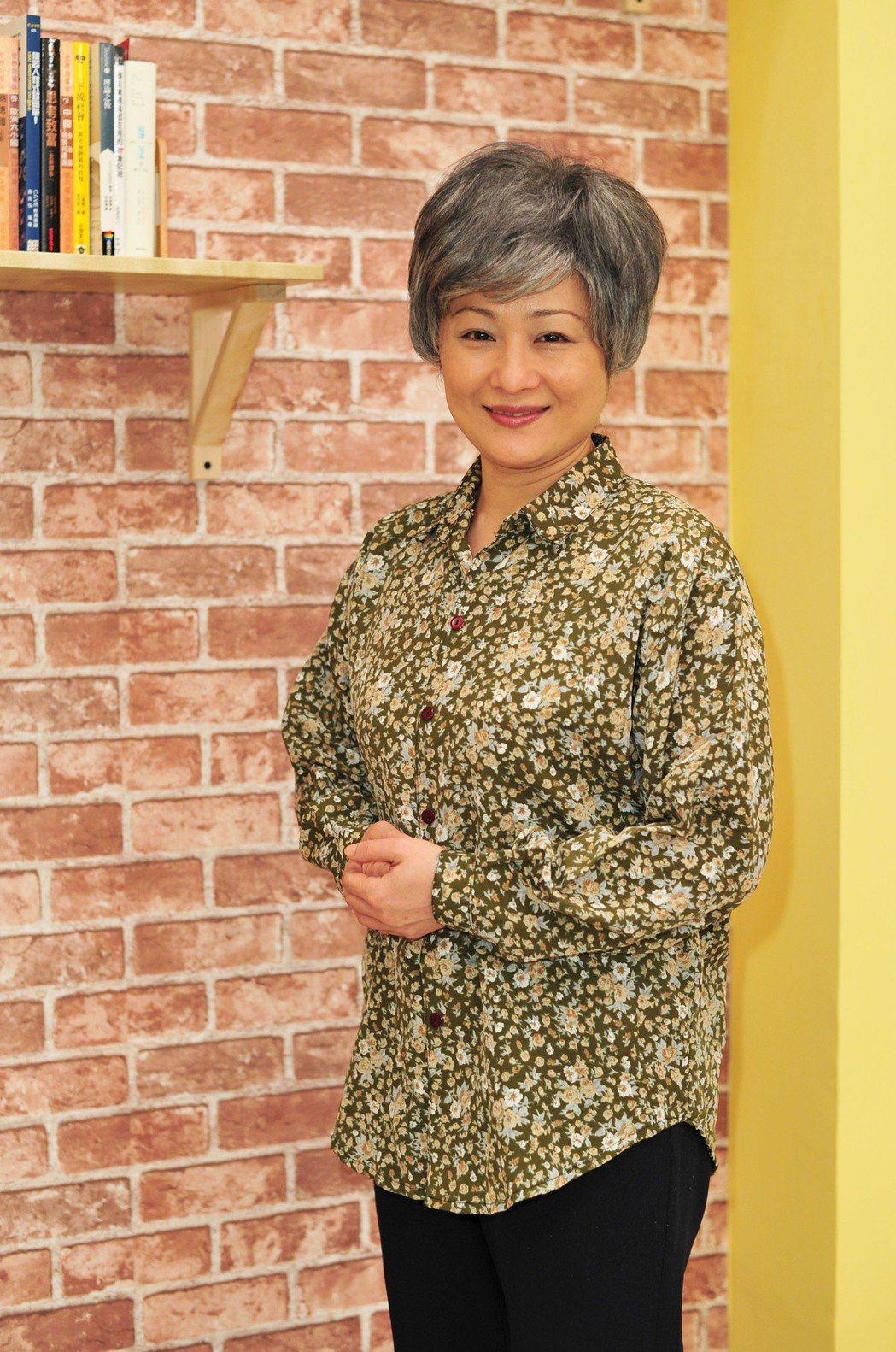 孫淑媚為新戲「牡丹花開」拍攝母親節宣傳片。圖/台視提供