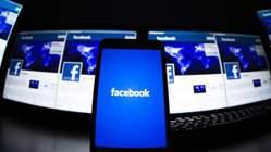 Facebook(臉書)今天早上發生桌機版當機。圖/路透