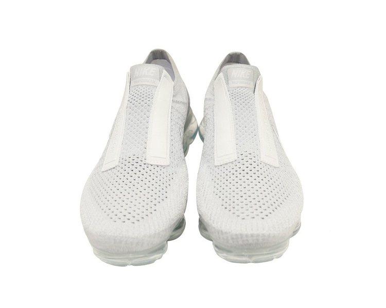 Comme des Garcons X Nike VaporMax白色無鞋帶運動...
