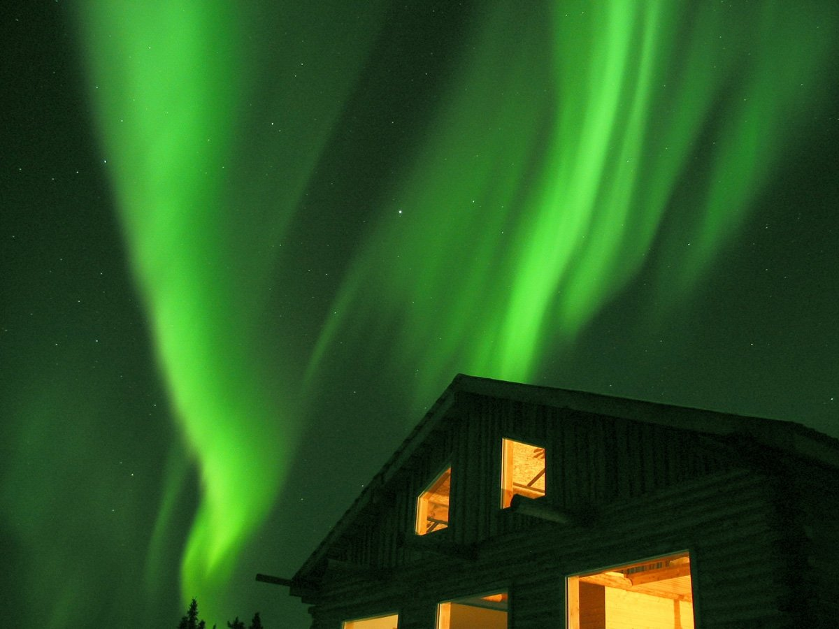 阿拉斯加極光。圖/雄獅旅遊提供