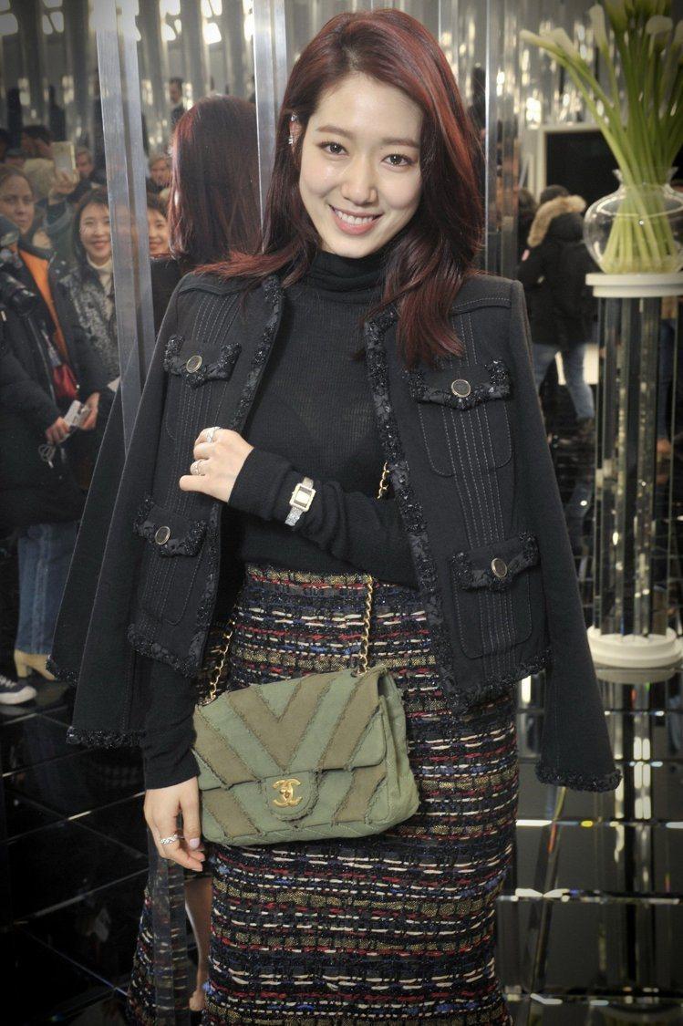 韓國女星朴信惠。圖/CHANEL提供