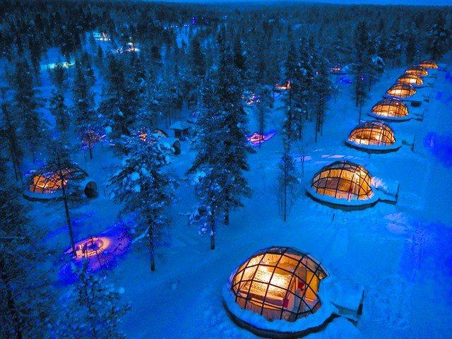 芬蘭極光。圖/易遊網提供