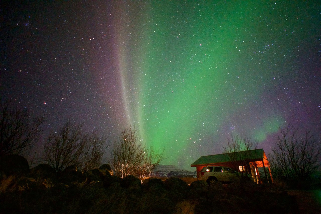 冰島極光。圖/擷取自 加蛋不加價flickr