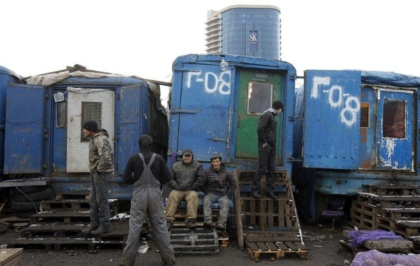百萬名中亞籍移工位處於俄國社會的低層,難以度日。 圖/路透社