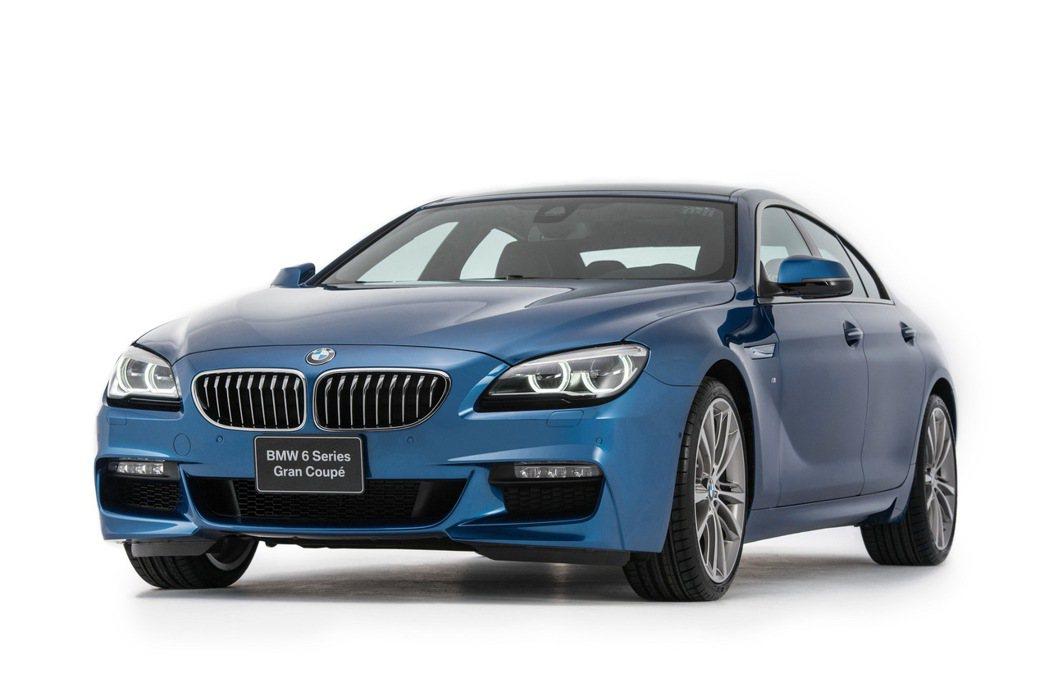 BMW 640i Gran Coupe M Sport搭載M款跑車化套件。 圖/汎德提供