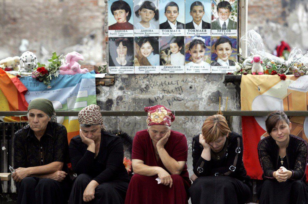2004年9月的貝斯蘭挾持事件,造成330人不幸喪命,其中186人為兒童。 圖/...