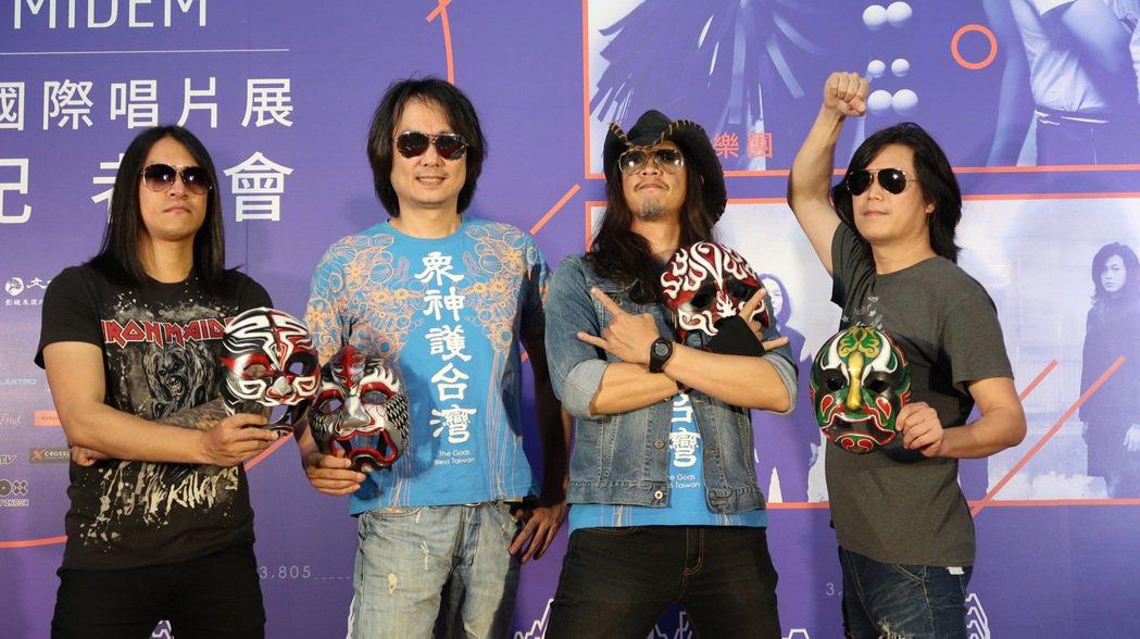 董事長再度代表台灣出國演出。圖/文化部提供