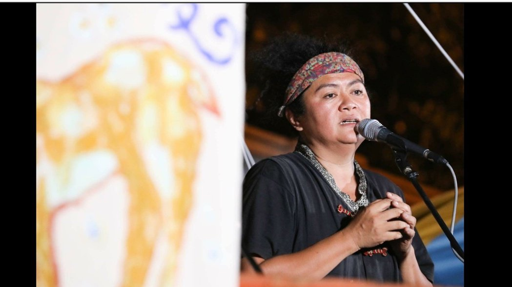 巴奈全心爭取原住民傳統權益。圖/巴奈提供
