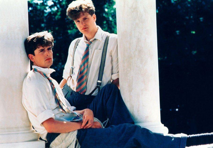 魯伯特艾瑞特(左)與柯林佛斯在「同窗之愛」演好友。圖/摘自Daily Mail