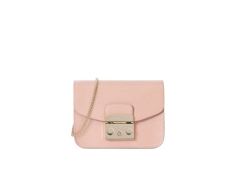 METROPLIS 肩背包(粉紅),11,800元。圖/FURLA提供