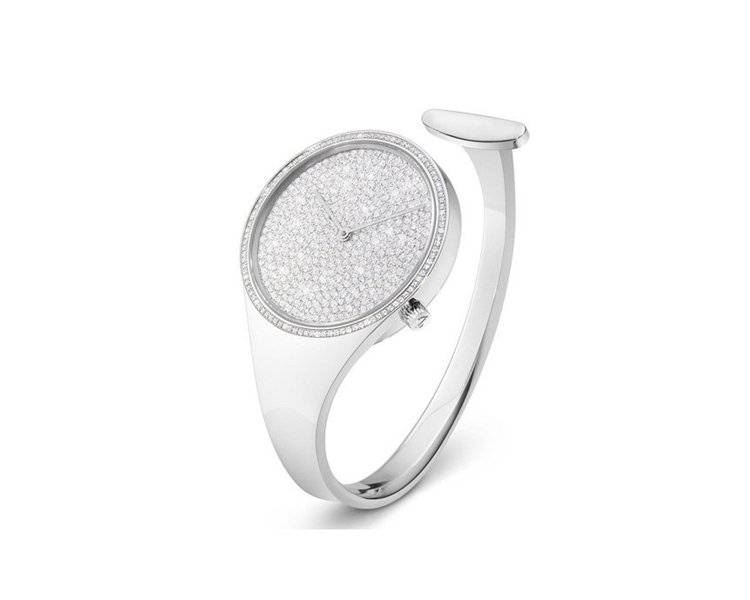VIVIANNA鑽石手鐲表,64萬5,000元。圖/GEORG JENSEN提供