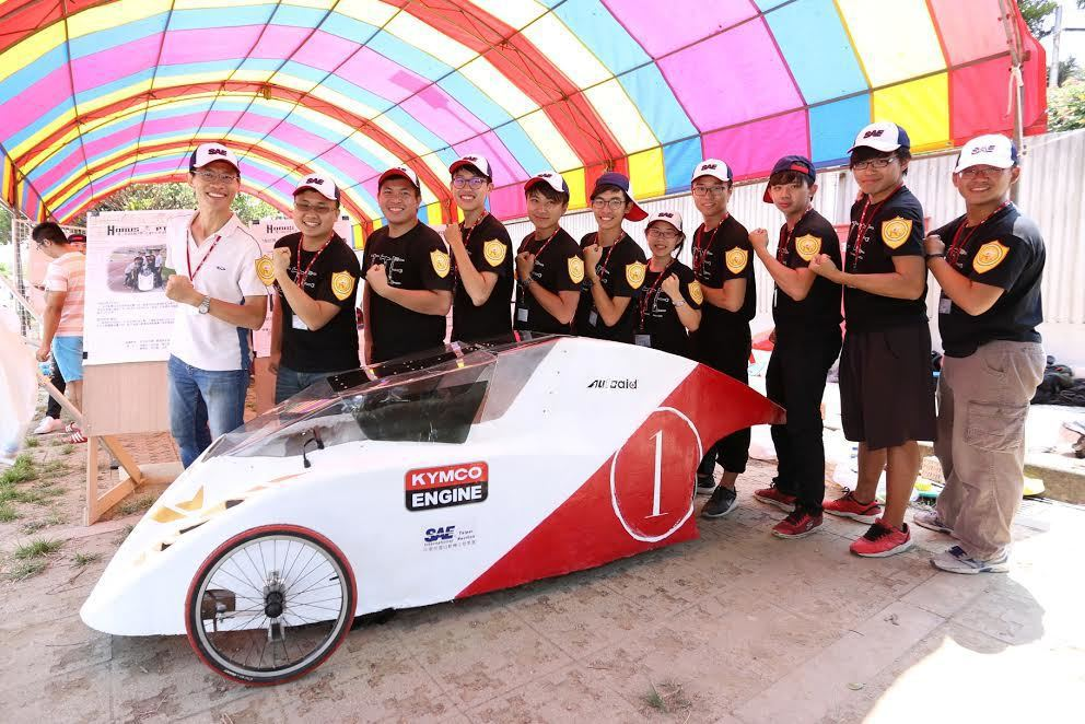 KYMCO光陽機車連續第九年贊助全國大專校院環保節能車大賽,並提供KYMCO暢銷車款Many的噴射引擎。 KYMCO光陽機車提供