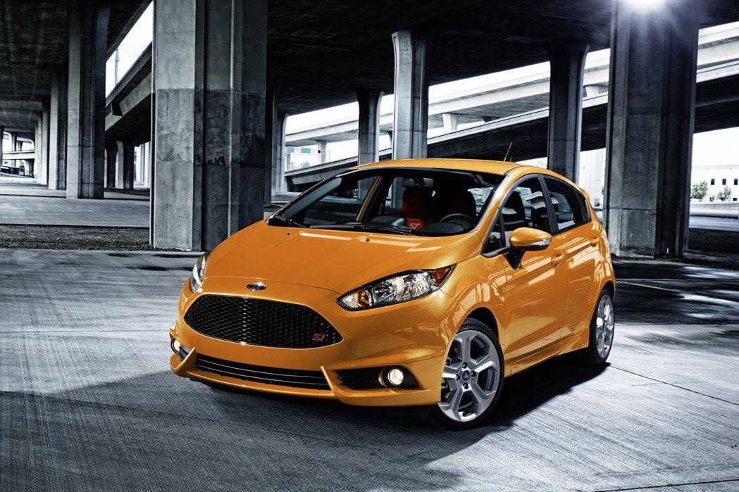 圖為 Ford Fiesta ST 車型。 摘自 Ford