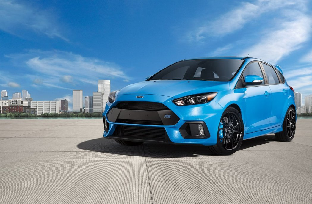現役Ford Focus RS 車型。 摘自Ford