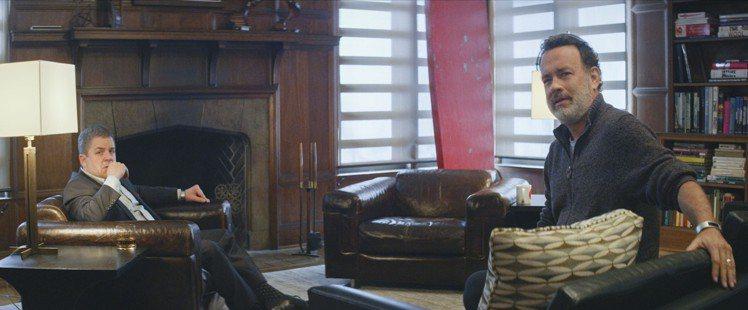 艾瑪華森與湯姆漢克斯共同主演的驚悚懸疑電影《直播風暴》。圖/CatchPlay提...