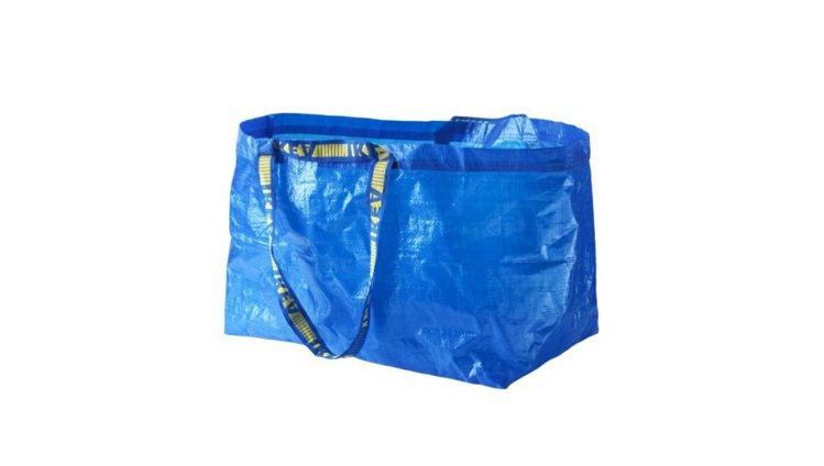IKEA的FRAKTA購物袋。圖/擷自IKEA官網