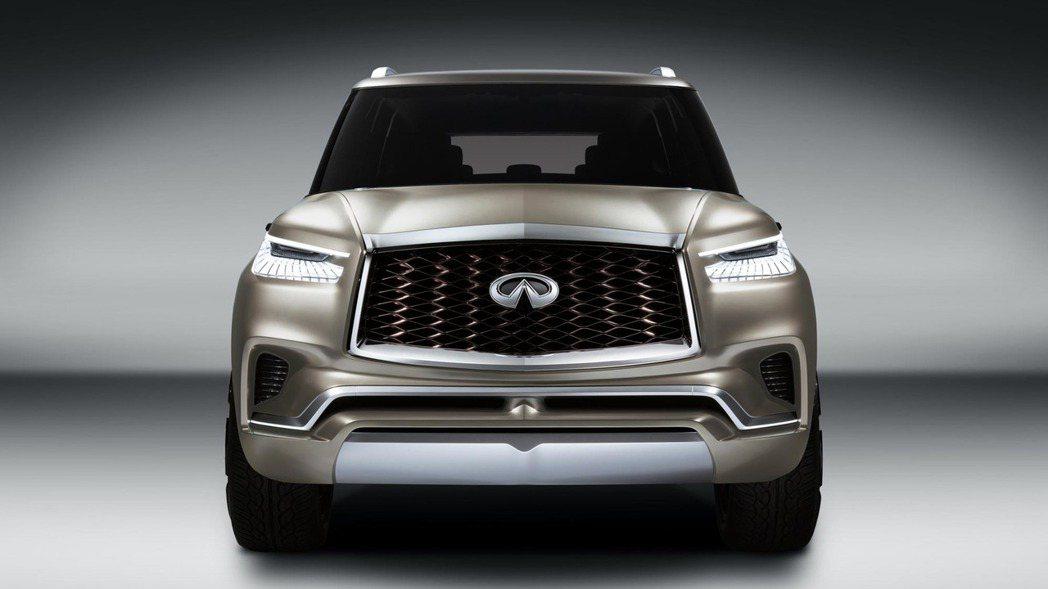 圖為 Infiniti QX80 Monograph Concept 概念車。 ...
