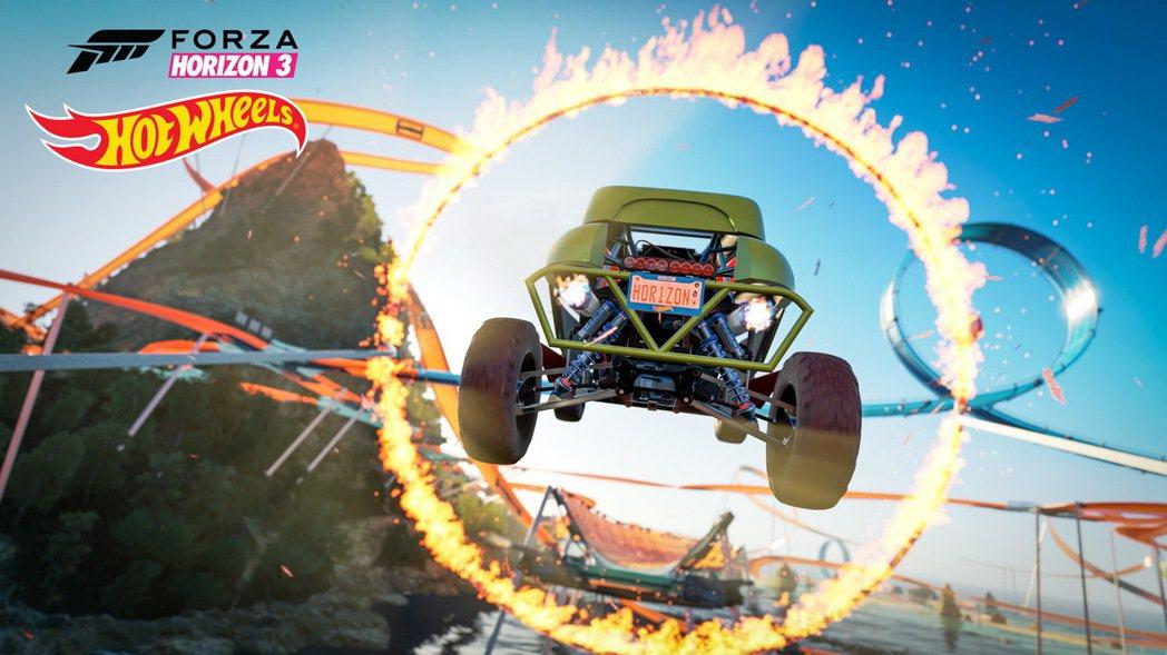 《極限競速:地平線 3》開放全新下載內容「無敵風火輪」,10台新車大集合。 圖/...