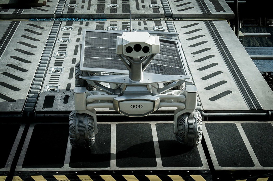 Audi lunar quattro登月車。 圖/台灣奧迪提供