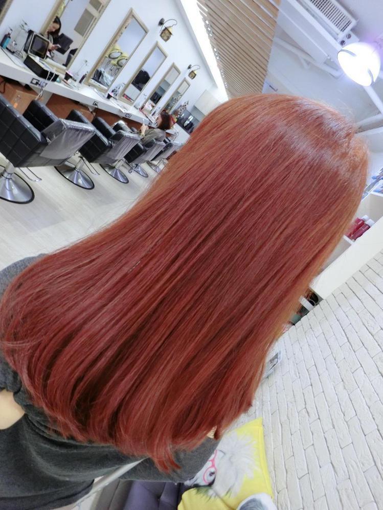 髮型創作/MV HAIR-Vi Ta。圖/HairMap美髮地圖提供