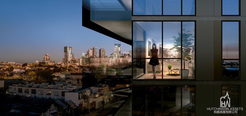 柏鑫資產代理墨爾本VOLAIRE奢華景觀公寓 柏鑫資產/提供