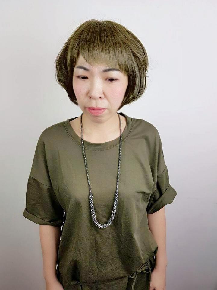 髮型創作/參 HairSalon-MINA。圖/HairMap美髮地圖提供