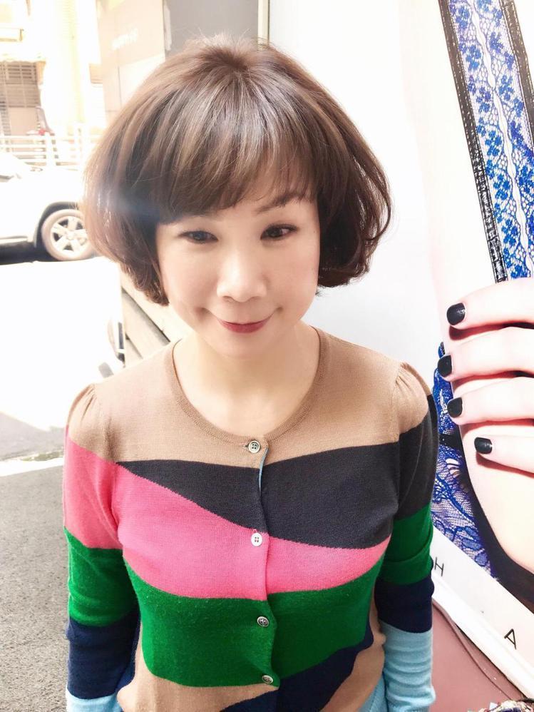 髮型創作/Happyhair總店-侯梅春。圖/HairMap美髮地圖提供