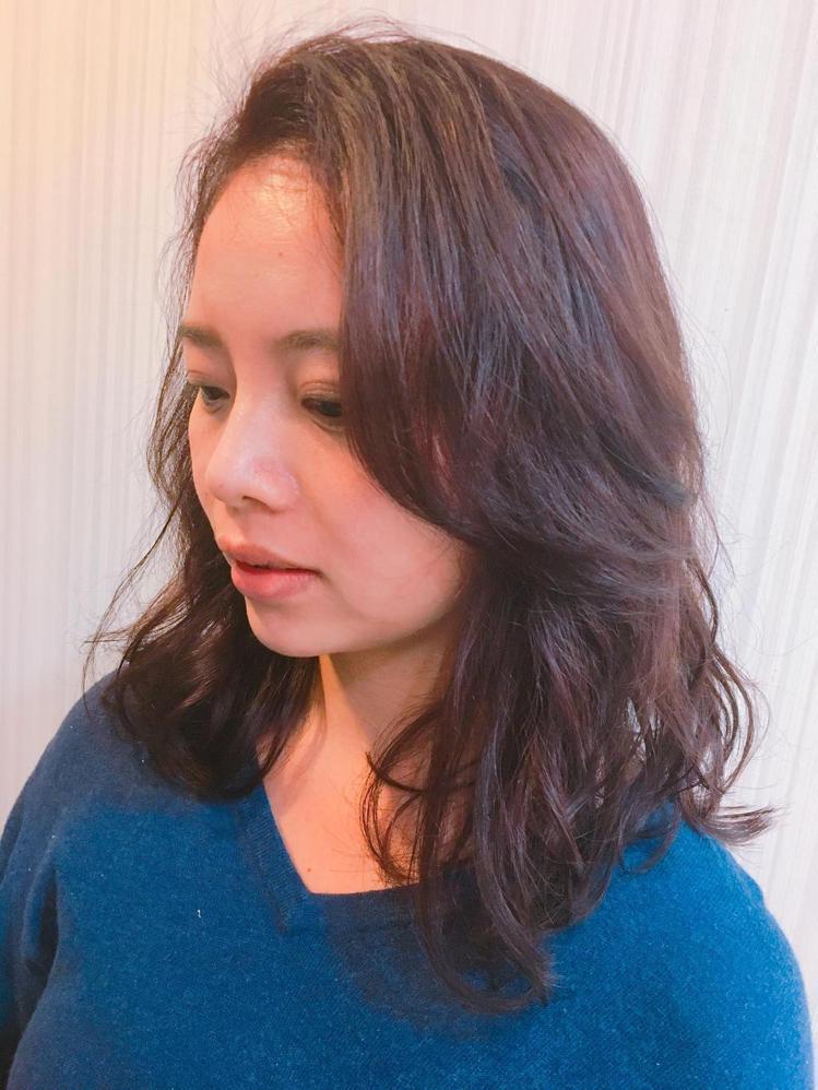 髮型創作/如果髮型靜宜店-Cathy。圖/HairMap美髮地圖提供