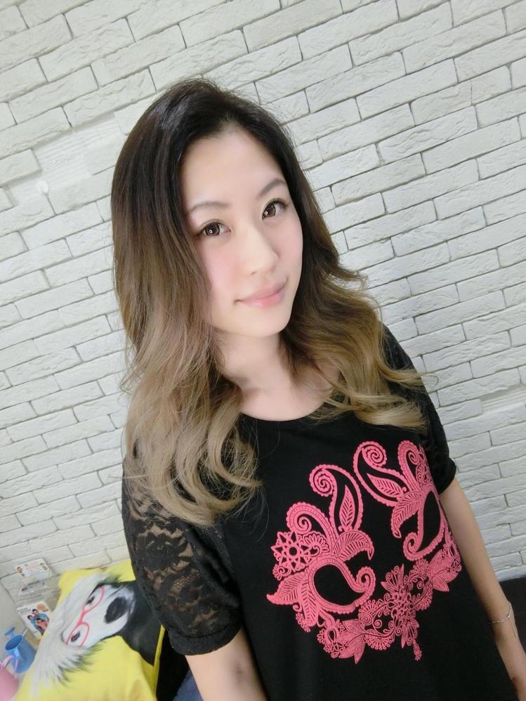 髮型創作/MV HAIR-Zoe Lin。圖/HairMap美髮地圖提供