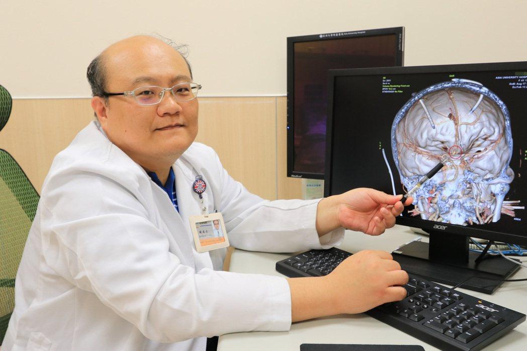 亞洲大學附屬醫院腦中風中心主任楊道杰提醒,一旦出現頭痛、頸部僵硬、發燒不退等現象...