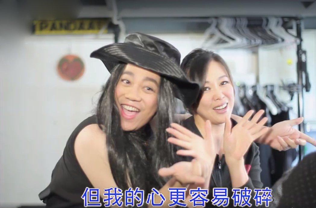 導演彭浩翔其實才是王馨平鐵粉。圖/華映提供