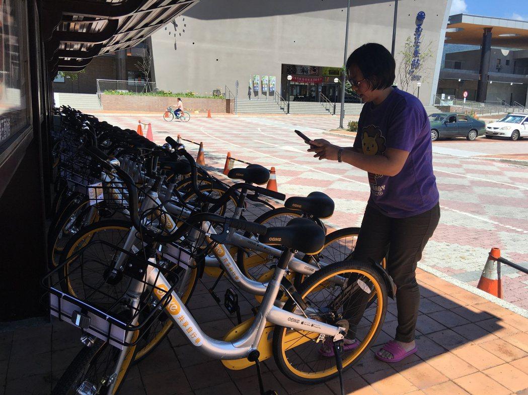 oBike「快閃」單車版Uber挨批占用公有土地