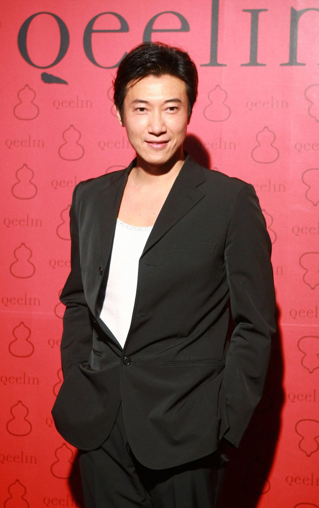 陳鴻(見圖)出席台北Qeelin店開幕會(圖為2009年6月拍攝)。 記者高智洋...