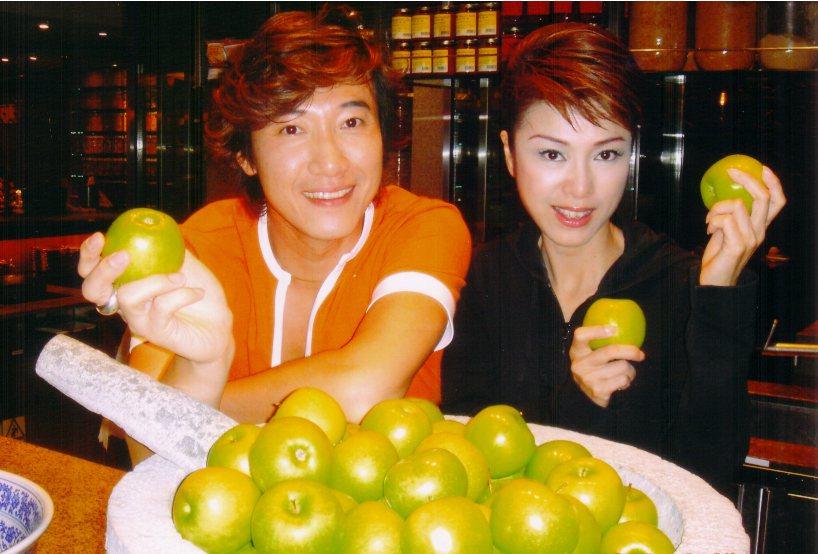 米雪想與陳鴻一起在大陸開節目。(圖為2005年07月17日刊登)陳鴻/提供