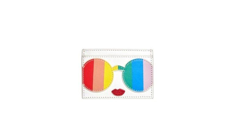 彩虹Stace Face卡夾,3,500元。圖/alice+olivia提供