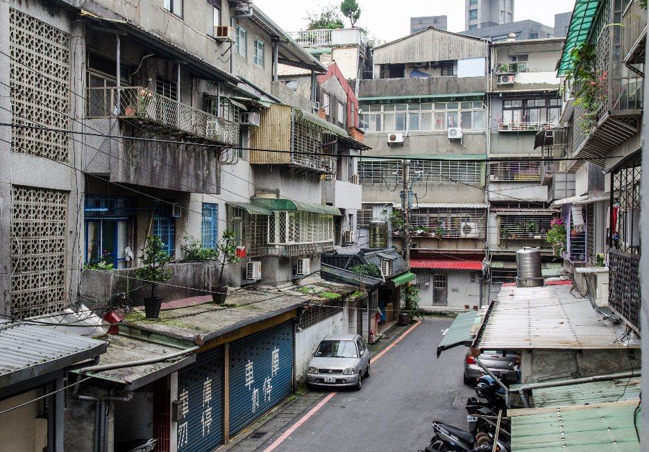 台北市老屋多。 聯合報系資料照片/記者楊祖宏攝影