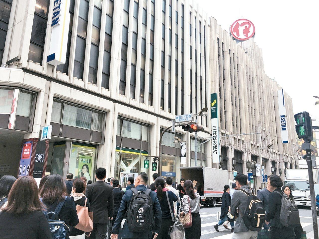 日本老品牌伊勢丹百貨,正積極運用各種最新科技,了解顧客的消費行為。 商研院/提供