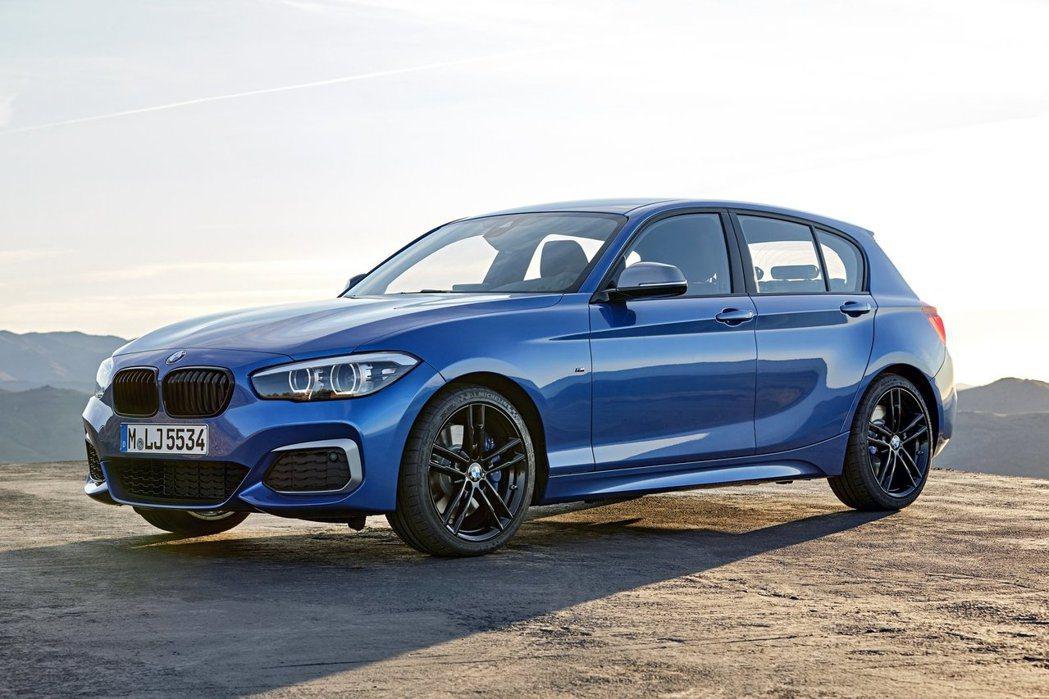 小改款BMW 1-Series。圖/BMW提供
