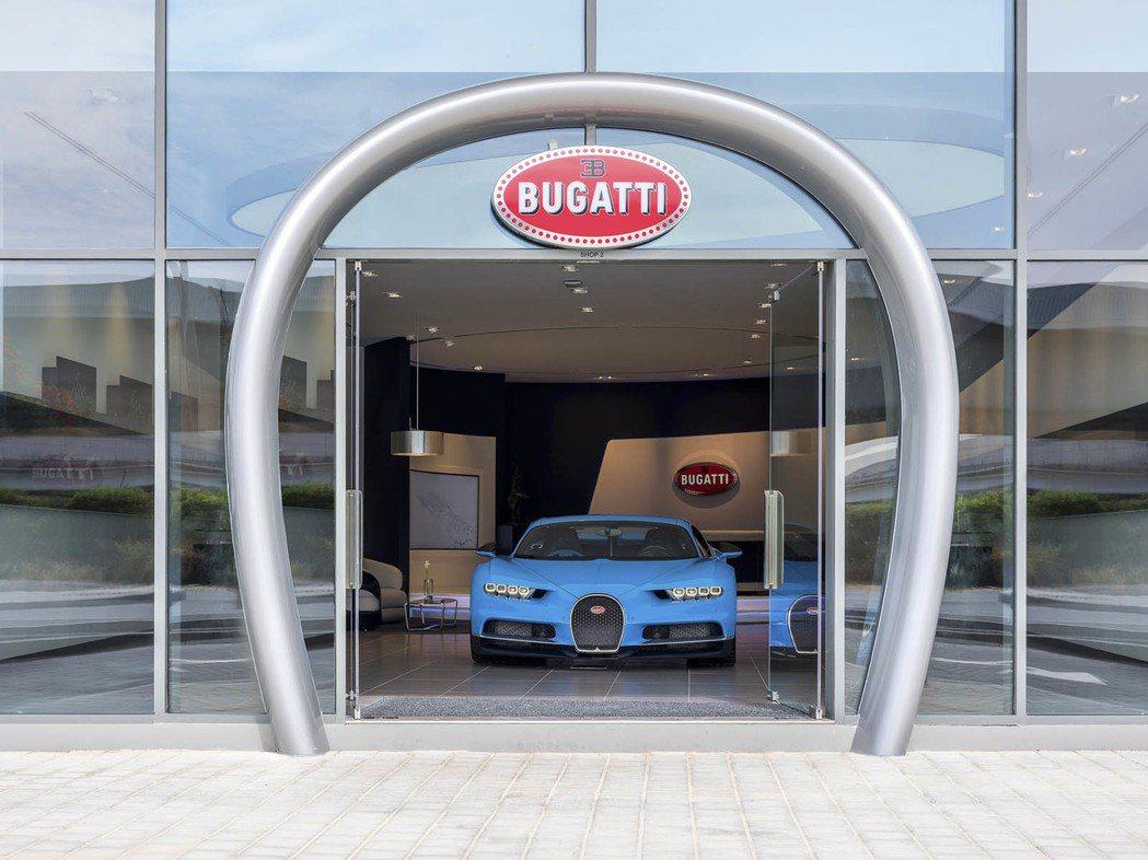 Bugatti位於杜拜的展示間。圖/Bugatti提供