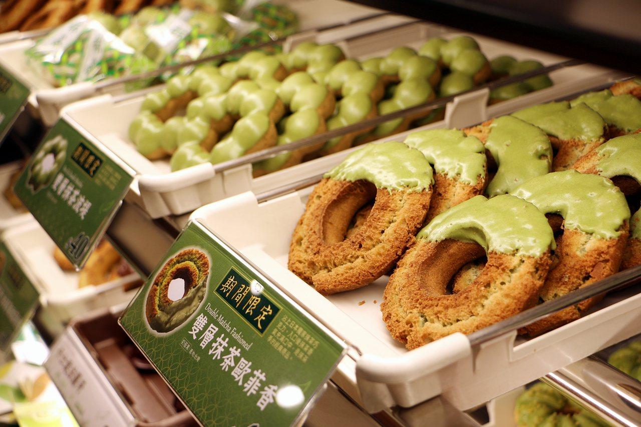 日本男星玉木宏也愛吃抹茶歐菲香。記者沈佩臻/攝影