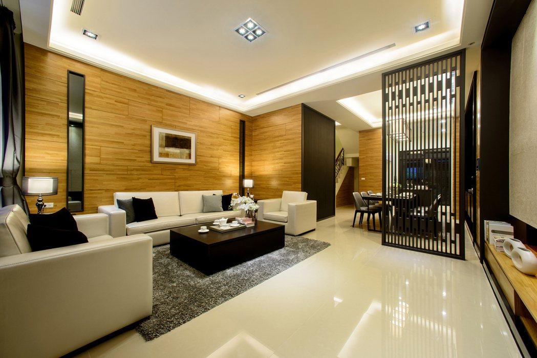這是現場實景格局設計讓室內採光更佳 業者提供